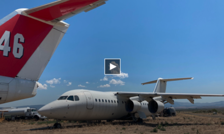 Minden air tankers sit unused through another busy fire season