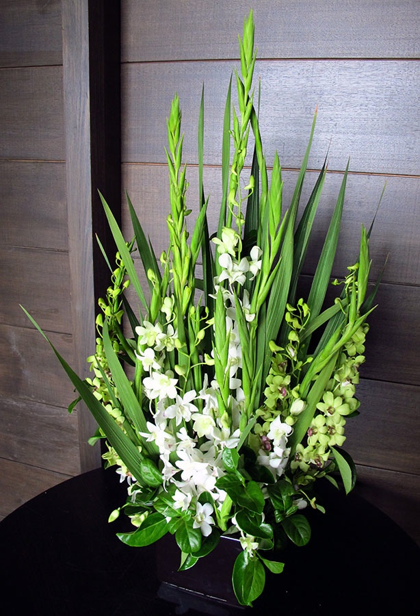 Singapore Orchid Corporate Office Arrangement