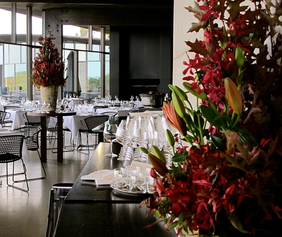 Port Phillip Estate Autumn Floral Arrangements