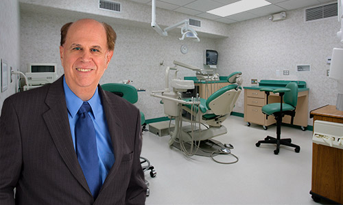 Dr. Gagne in his large operatories.