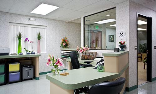 Front Desk for IV sedation, Oral Sedation, Nitrous oxide Sedation