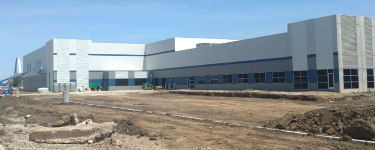 new healthcare laundry facility
