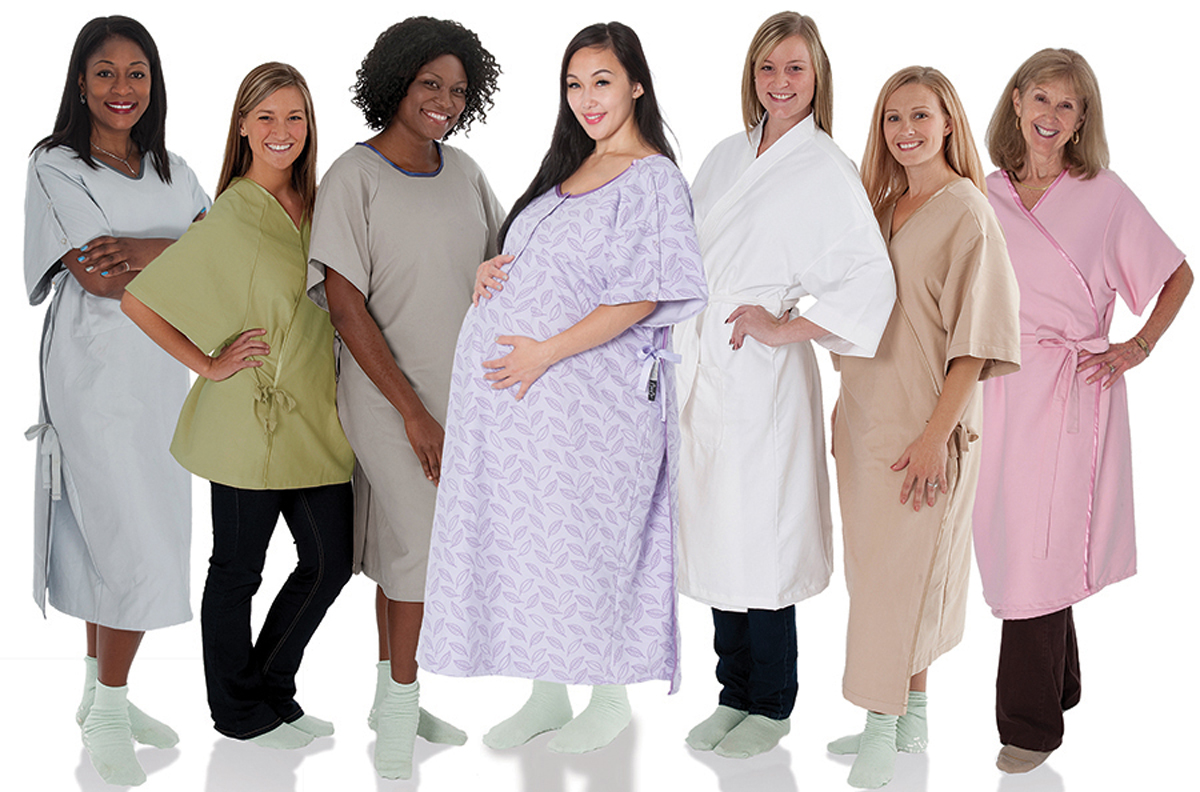 Comfort Care Hospital Gowns Now Available from Faultless Healthcare Linen