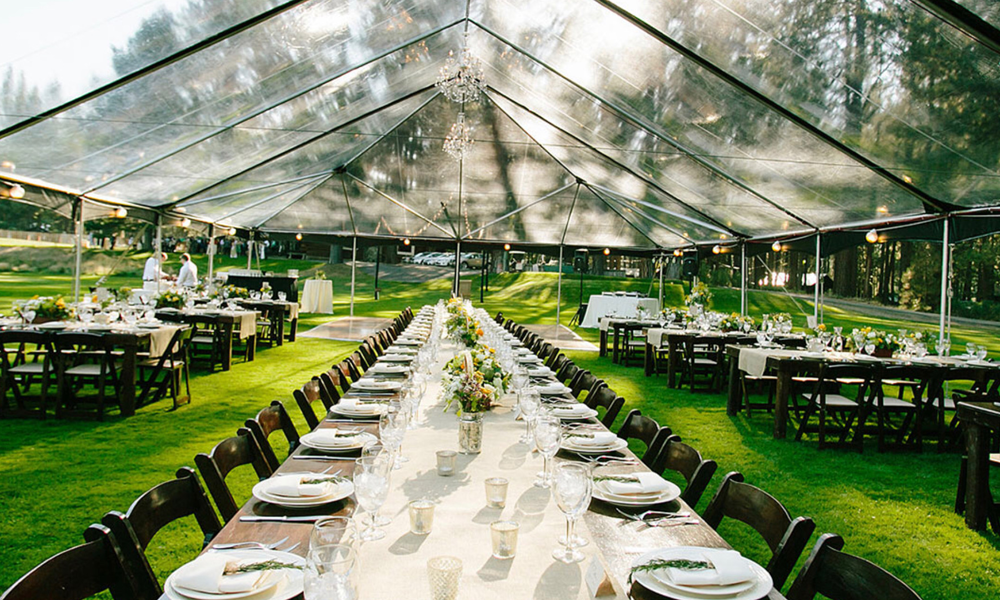 Clear-top Tents