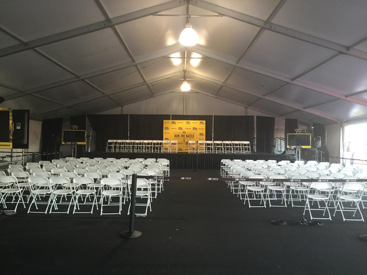Joliet Tent | Inside Tent