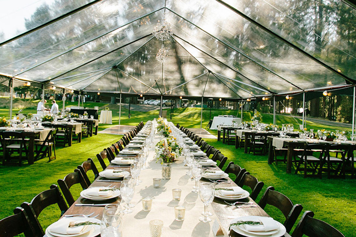 Clear Top Tents