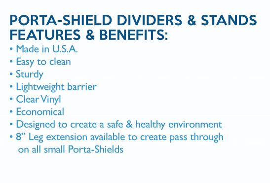 Porta-Shield Dividers & Stands| Joliet Tent
