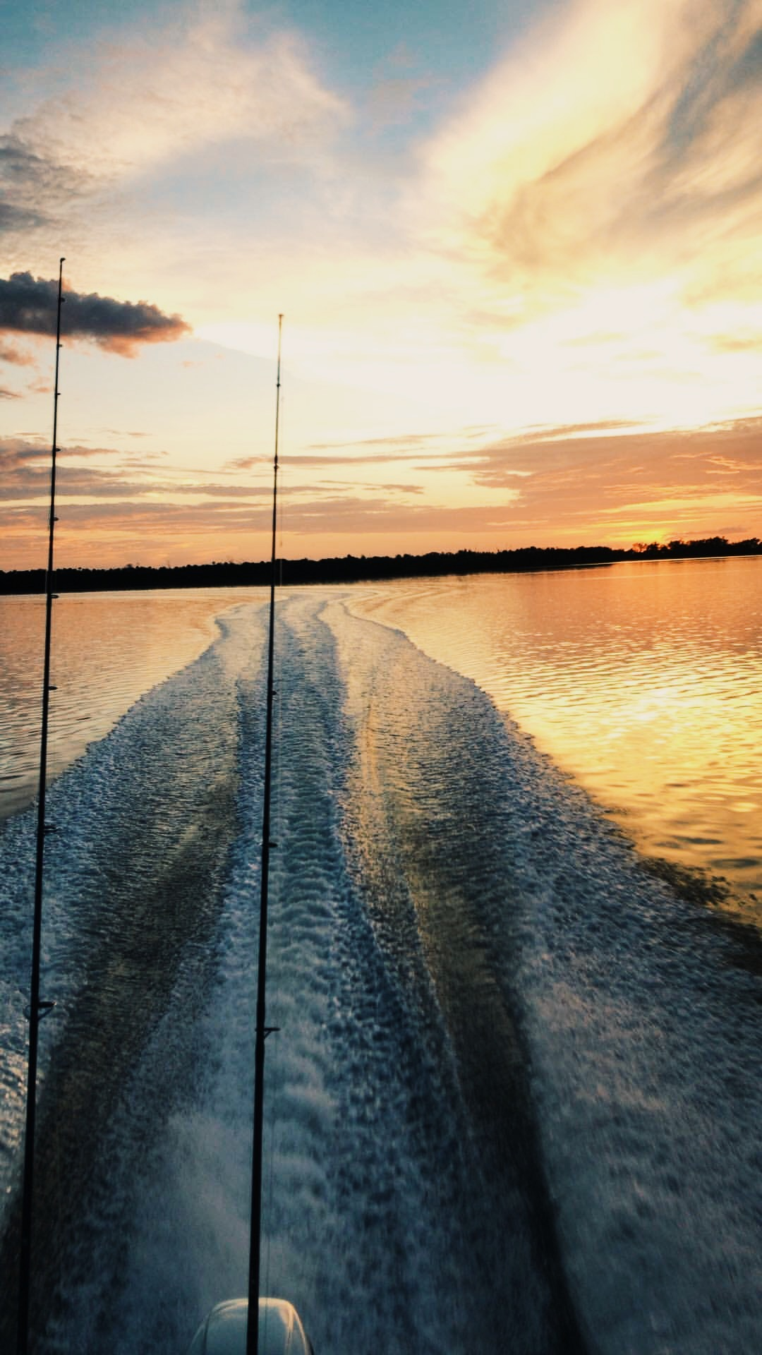 sunset cruise, inshore fishing