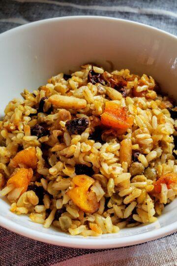 Persian wedding rice