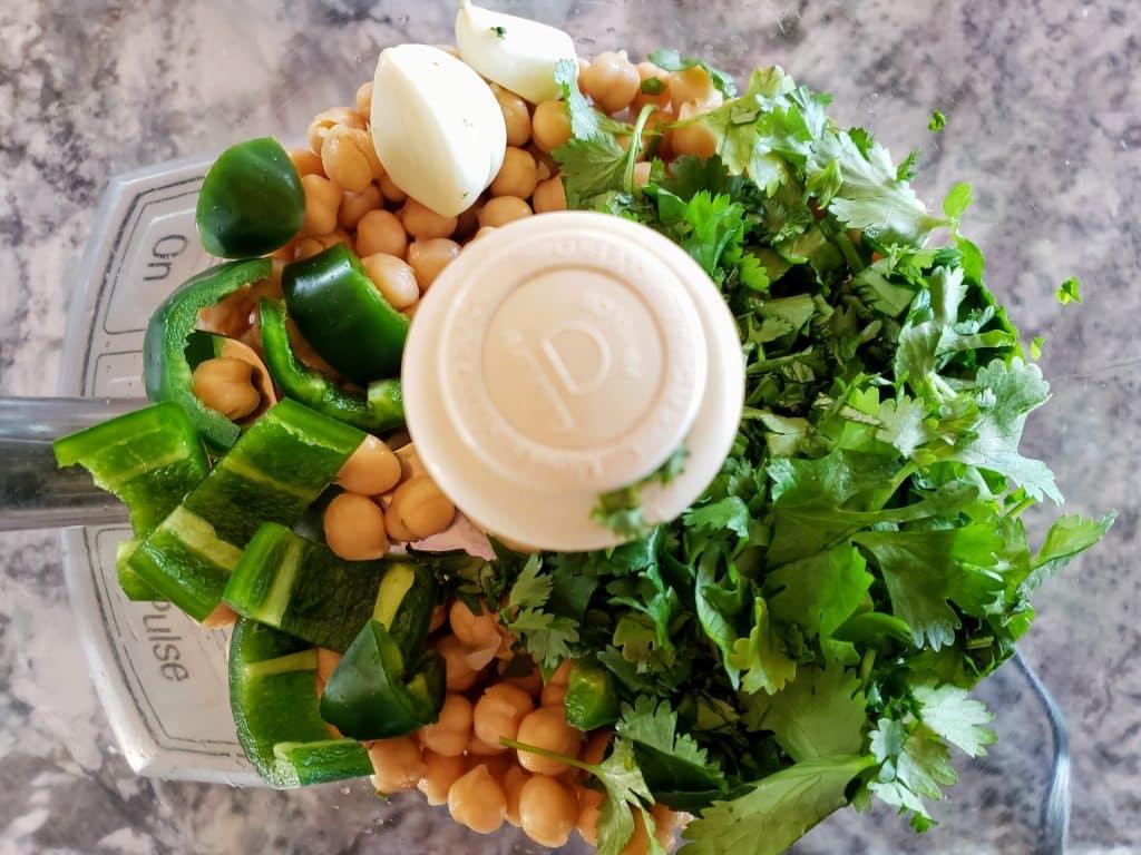 cilantro jalapeno hummus 1