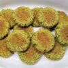 Baked crispy falafel