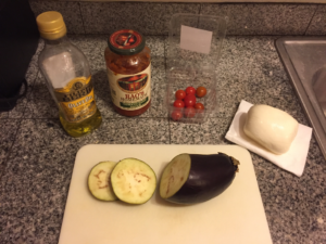 Healthy Mini Eggplant Pizza