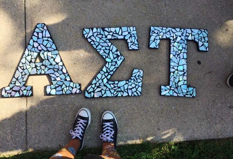 AST Greek Letters