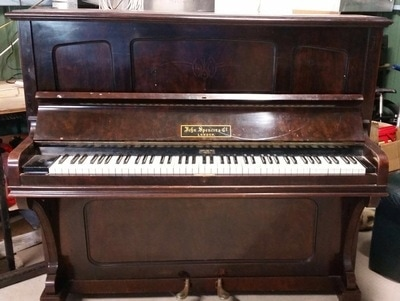 used piano moving