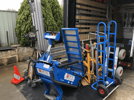 Forte Heavy Removals equipment