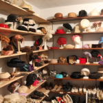 Hat display first floor