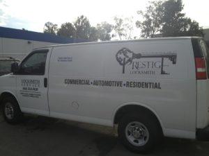 mobile locksmith van