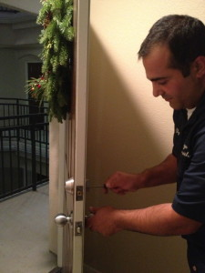 Door hardware installation, service and repair locksmith service