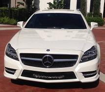 Luxury Mercedes car