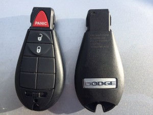 Dodge FOBIK Remote Key Replacement