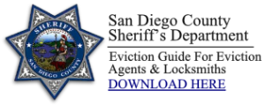 san diego eviction services sheriff