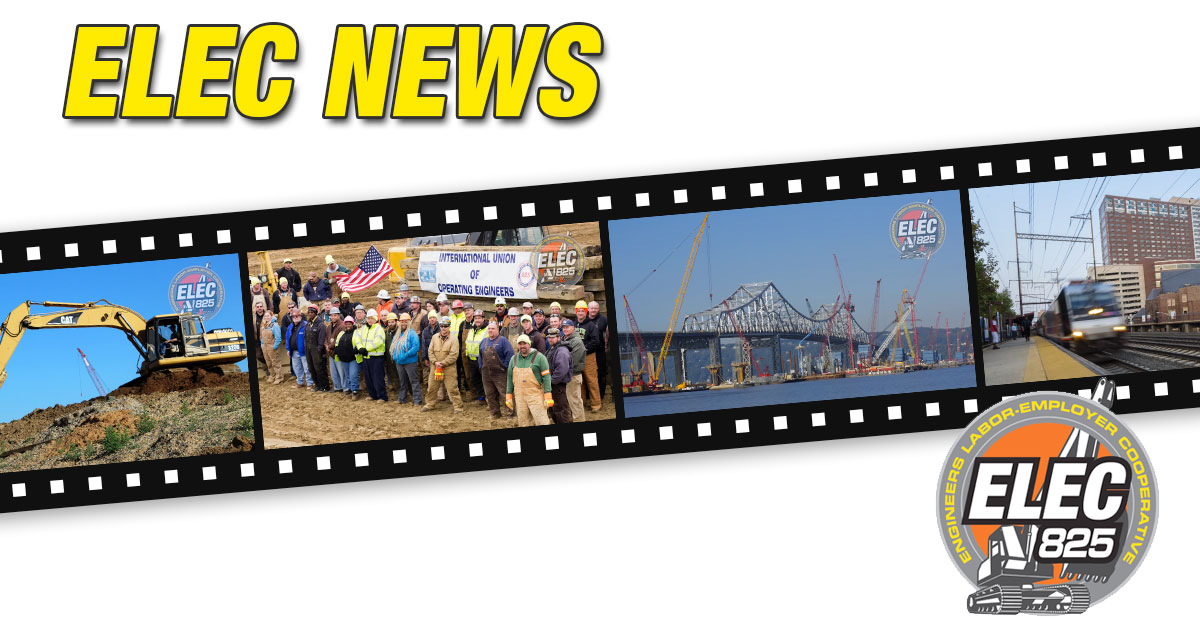 ELEC825 launches TV campaign to build awareness and union pride…Reaching two million homes in NJ and NY counties