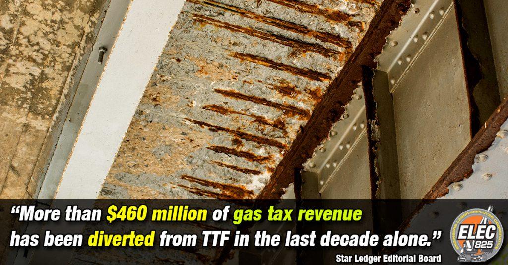 "Star-Ledger Editorial Board-""Vote Yes on Q-2, the gas tax revenue lockbox"""