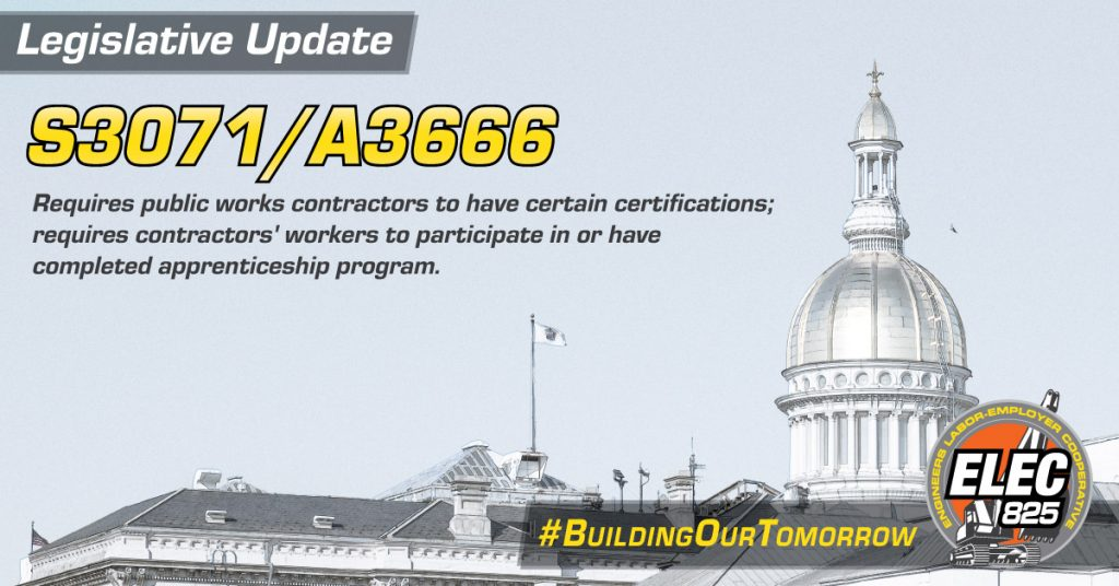 Legislative Update: S3071/A3666