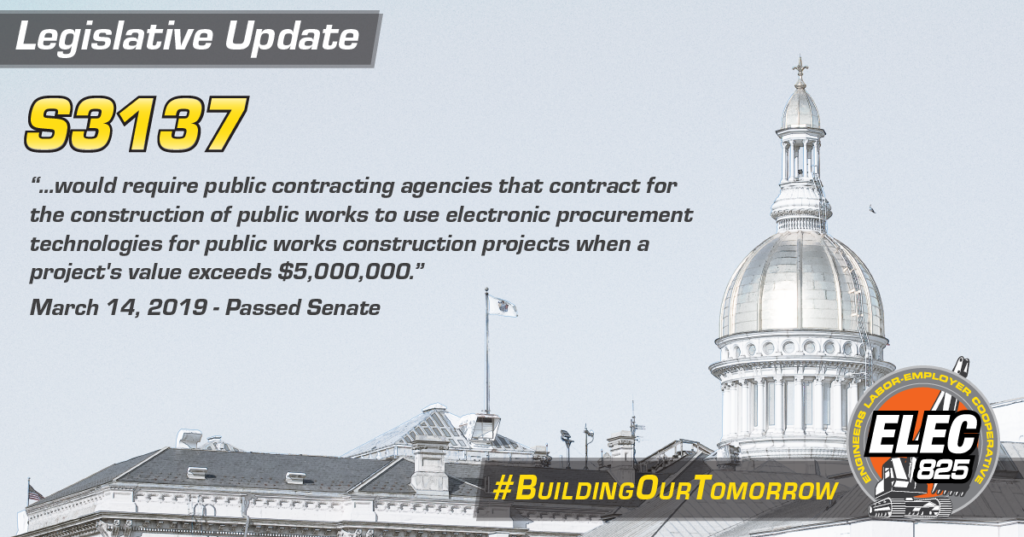 Legislative Update: S3137