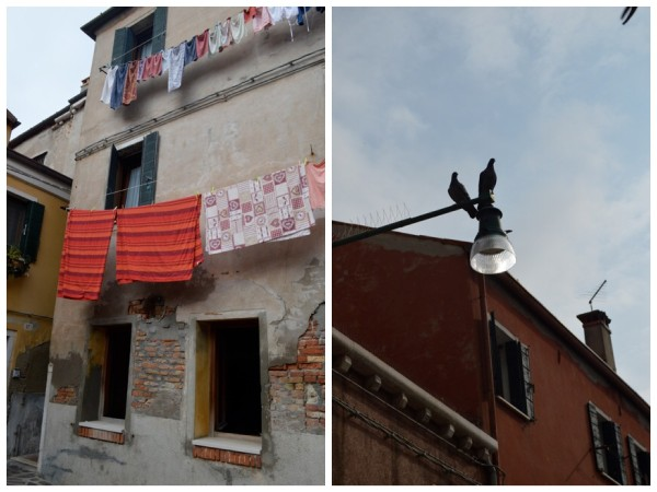 Looking up in Murano