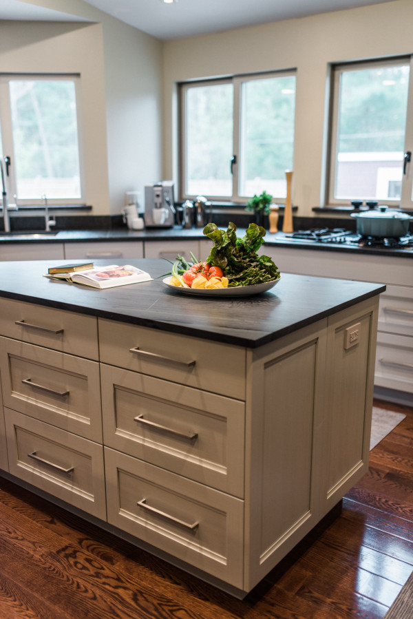 Shore Haven Kitchens Transitional Gray-5