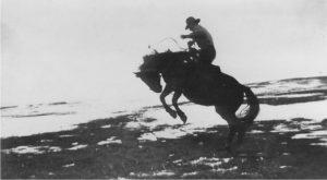 Granddad on his horse