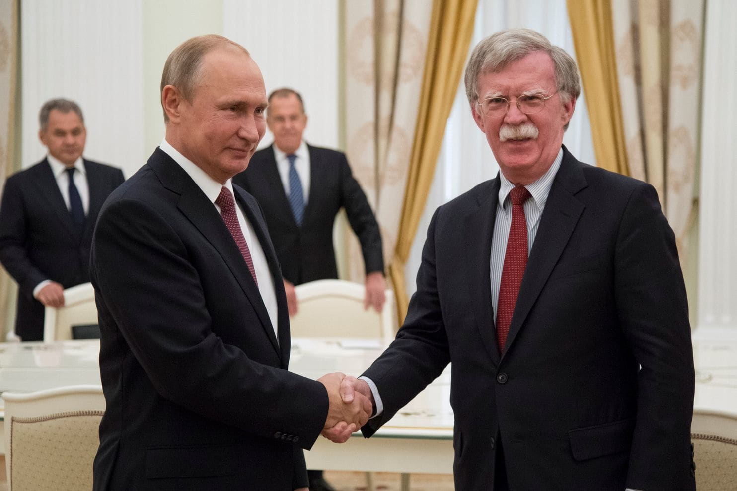 John Bolton paving the way for Trump/Putin meeting