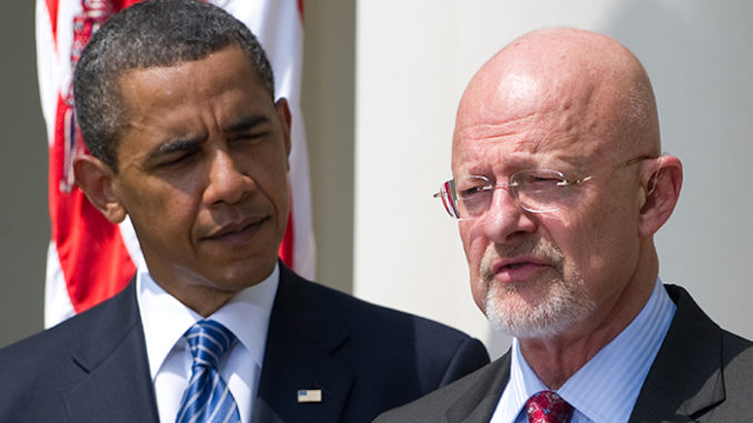 Clapper points the finger at Obama (The Mueller Massacre begins)