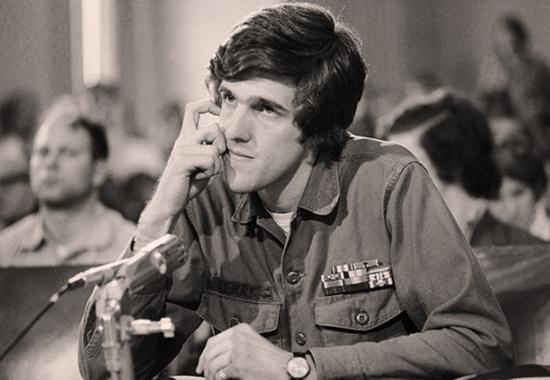 Is John Kerry pivoting off of John McCain's death?