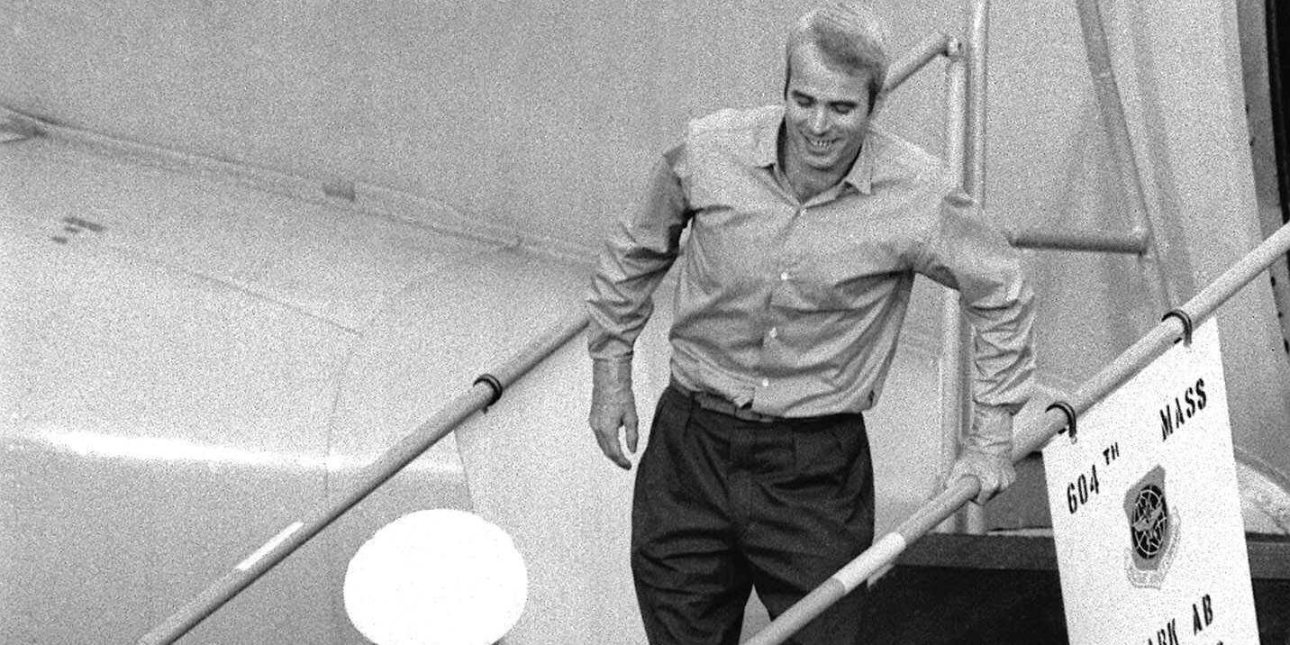"""Rest in peace squid"" John McCain ( August 29th, 1936 – August 25th, 2018)"