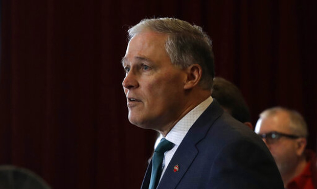 Jay Inslee as president would declare global warming emergency and shutdown Boeing