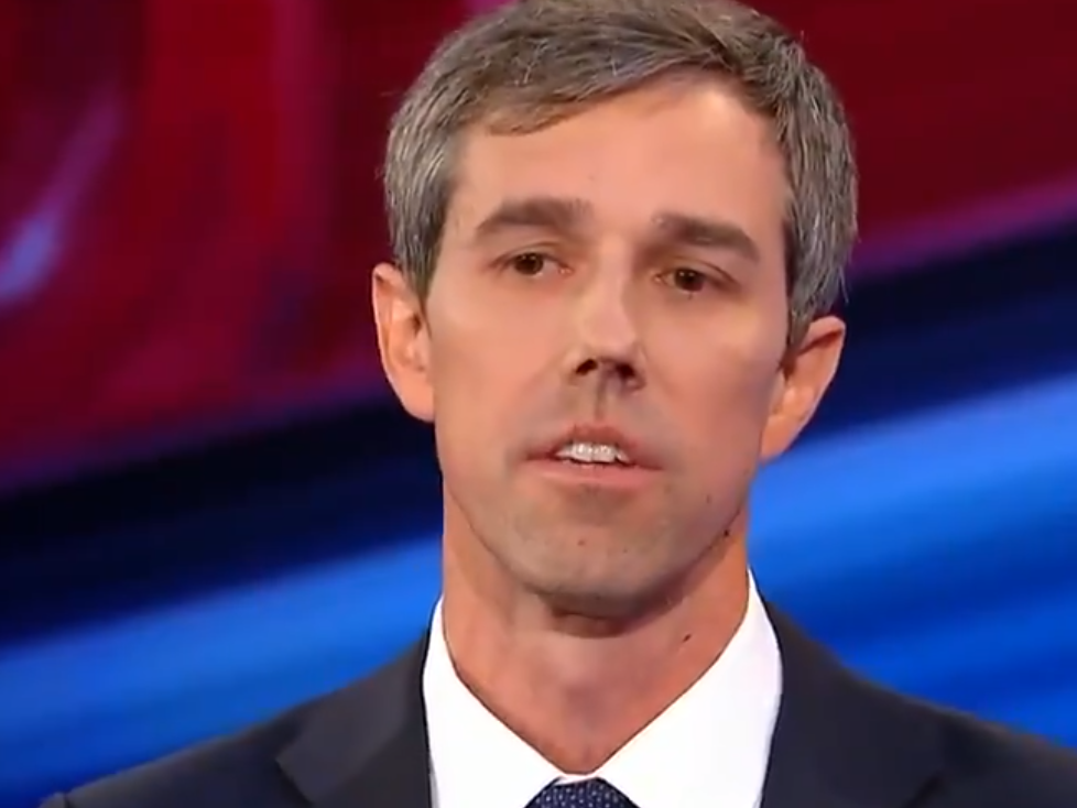 Beto O'Rourke somewhat of a doofus