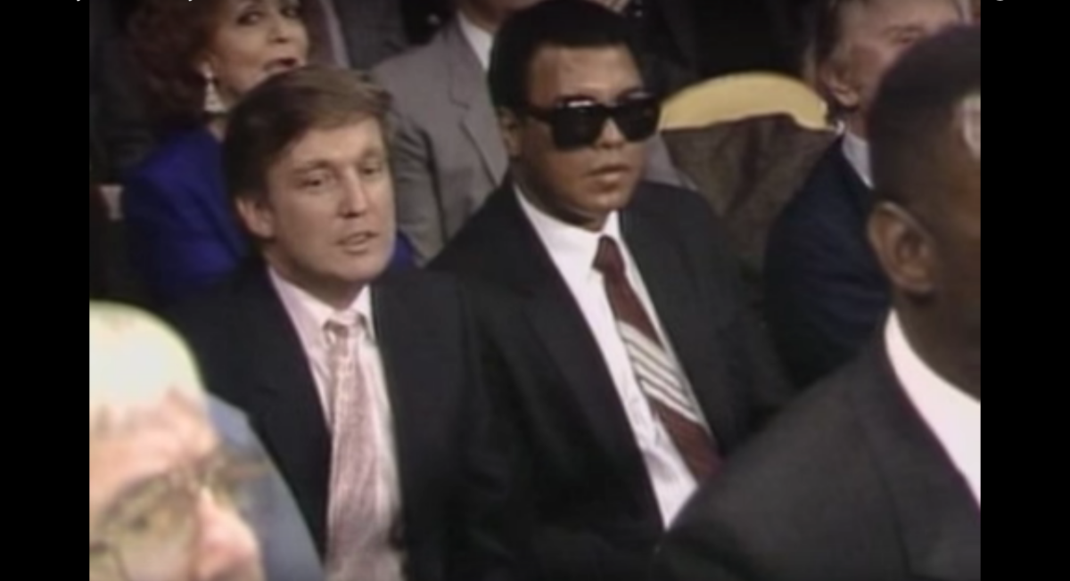 Trump is not throwing in the towel ( he learned that from Muhammad Ali)