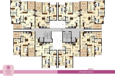 Block B - Upper Ground Floor Plan