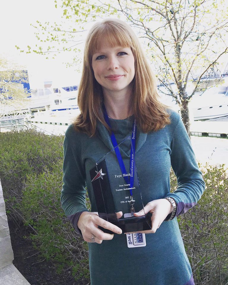 2017 Door County CTA Recipient Faye Blank from High Point Inn