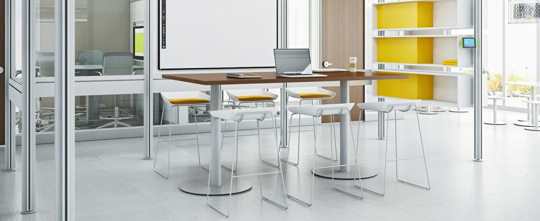 Large Corporation, Steelcase Groupwork, Steelcase Post and Beam