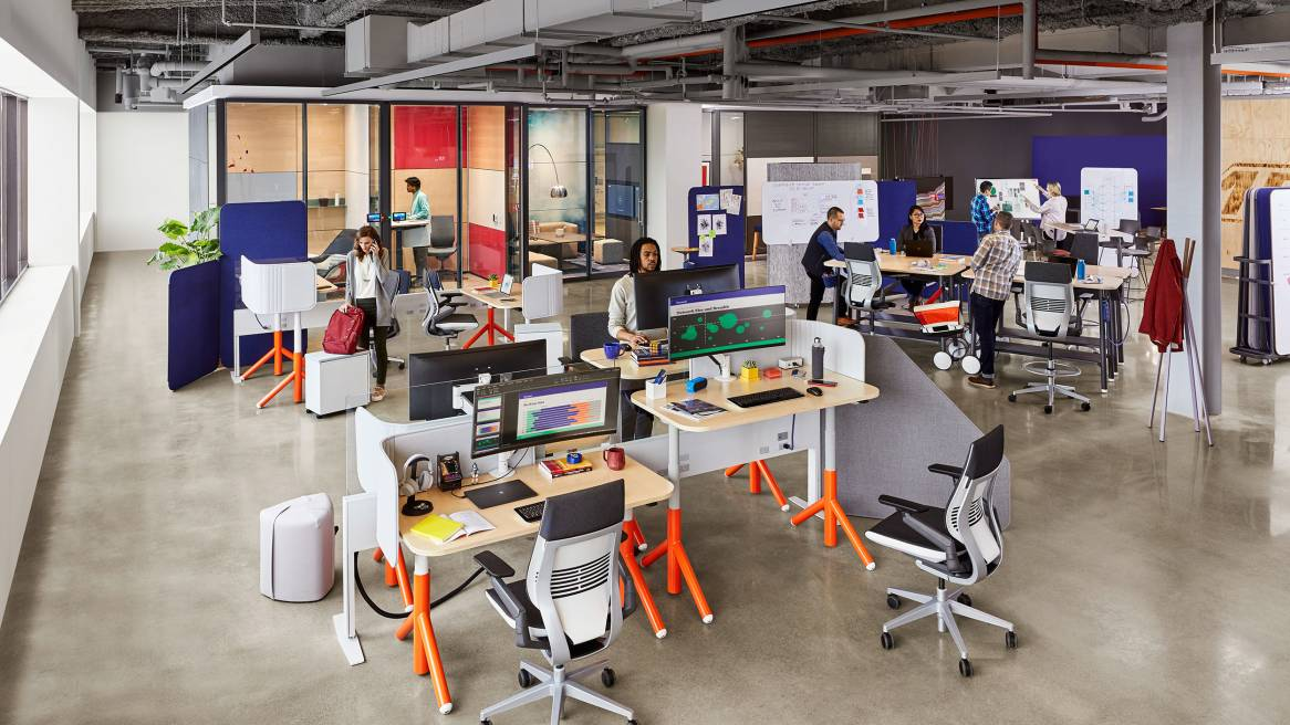 New Steelcase Flex Collection builds dynamic ?spaces for today's innovators