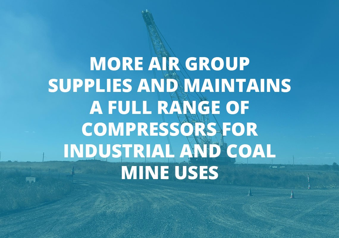 Compressors for industrial and coal mine uses