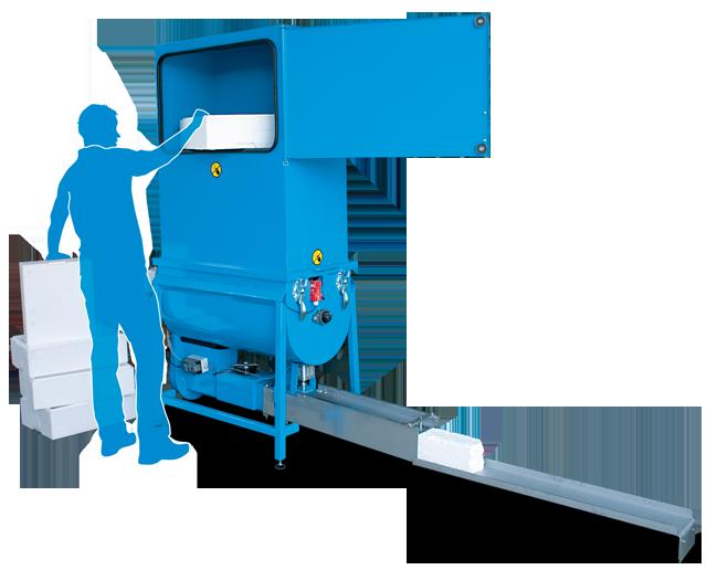 Mil-tek Compactors - Polystyrene Compactor
