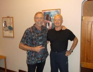 Dr. Dennis Woggon with Dr. Bill Koch