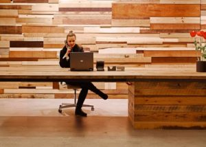 Large Advertising Firm, Custom Wood Solution