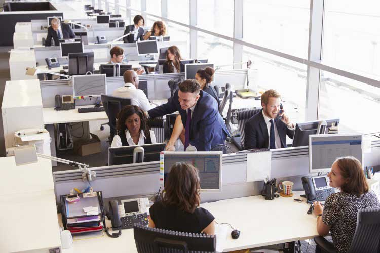Open Plan Offices and Hot-desking Impacting Workplace Satisfaction and Engagement