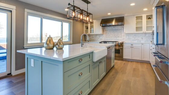 Creating a Cohesive Kitchen: Counters, Floors, and Cabinets