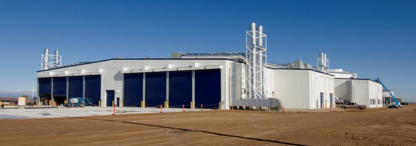 Vestas Surface Treatment Building